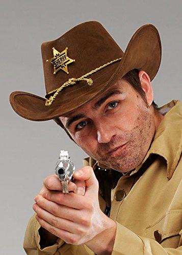 Mensch tot Stil gehen braun Sheriff -