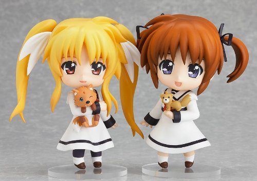 Nendoroid - Magical Girl Lyrical Nanoha: Nanoha Takamachi & Fate -Primary School Uniform ver.-