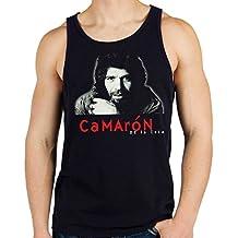35mm - Camiseta Hombre Tirantes - Camaron De La Isla - Flamenco - Men s  Tank Top 413757a54a7ab