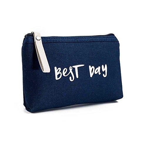 VJGOAL Damen Abendpaket, Frau Mädchen Briefe Kosmetik Tasche Freizeit Reißverschluss Geldbörse Geldbörse Kartenhalter Handtasche