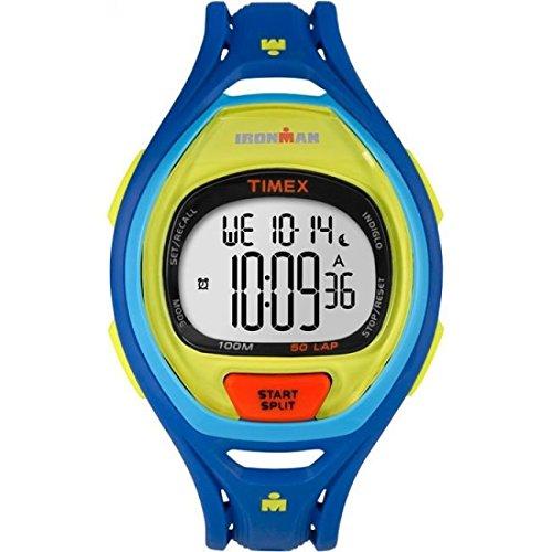 Timex Montre bracelet Mixte Chronographe Quartz Plastique tw5m01600