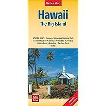 Hawaii: The Big Island | Hawaii: Grande Île | Hawái: La Gran Isla: 1:330.000 | reiß- und wasserfest; indéchirable et imperméable; irrompible & impermeable (Nelles Map)