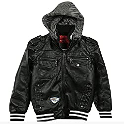 Lilliput Boys Jackets (8907264011228_Black_7-8 Years)