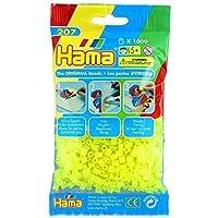 HAMA 207-34 - Beads Neon Yellow, 1000 Pcs by Hama