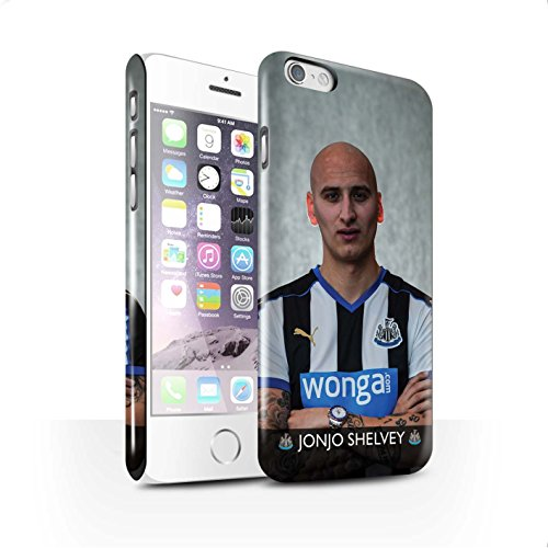 Offiziell Newcastle United FC Hülle / Glanz Snap-On Case für Apple iPhone 6 / Pack 25pcs Muster / NUFC Fussballspieler 15/16 Kollektion Shelvey