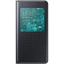 Samsung BT-EFCG850BBE - Cubierta del tirón para Samsung G850F Galaxy Alfa, con ventana, color negro