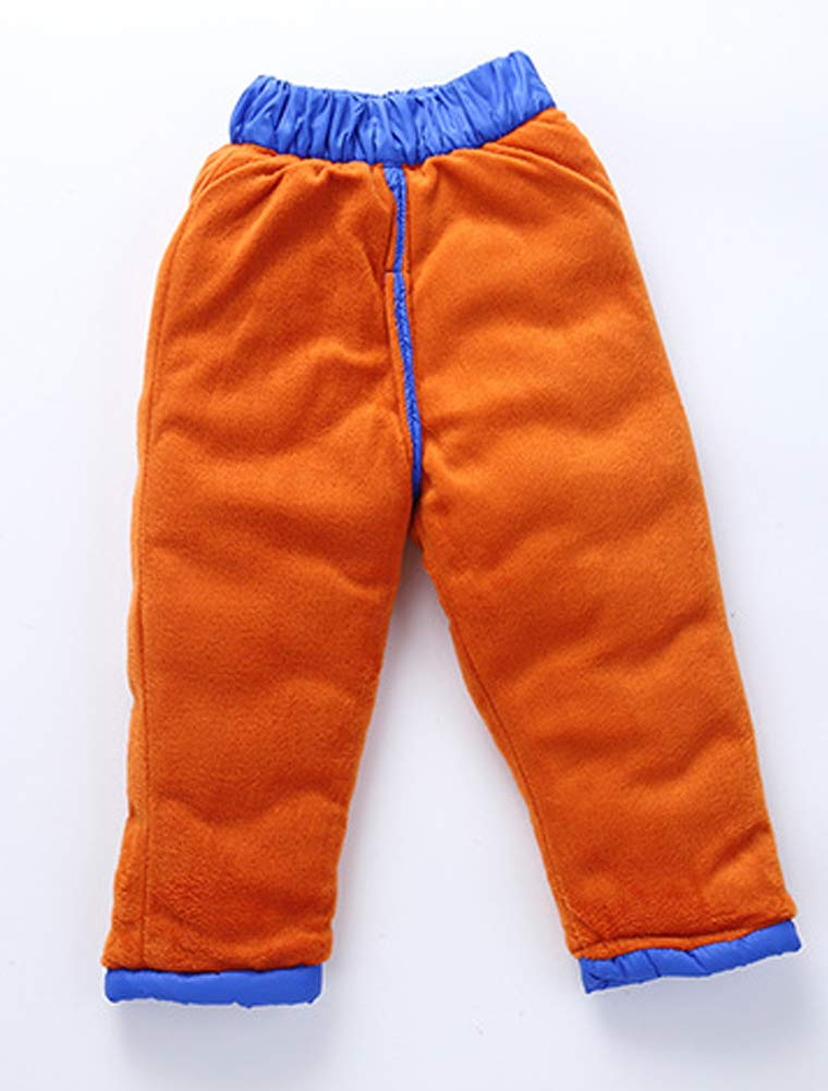 Odziezet Pantalones Esquí Niños Niñas Grueso Plumas Plumon Calientes 1-7 Años 2