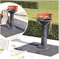 zerone Tapis de Protection Barbecue, Tapis Ignifuge Protection de Sol pour Barbecue BBQ Cheminée Camping 75cm x 124cm