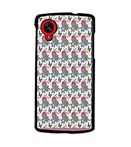 PrintDhaba Love pattern D-1821 Back Case Cover for LG GOOGLE NEXUS 5 (Multi-Coloured)