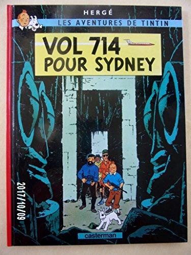 LES AVENTURES DE TINTIN T.22 ; VOL 714 POUR SYDNEY