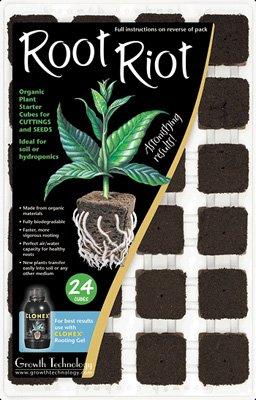Growth Technology Wurzel Riot - Pack von 24 von Growth Technology auf Du und dein Garten