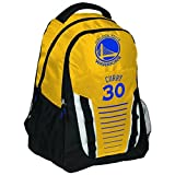 Forever Collectibles Unisex Curry S. # 30 Streifen Franchise Rucksack, Golden State Warriors, One size