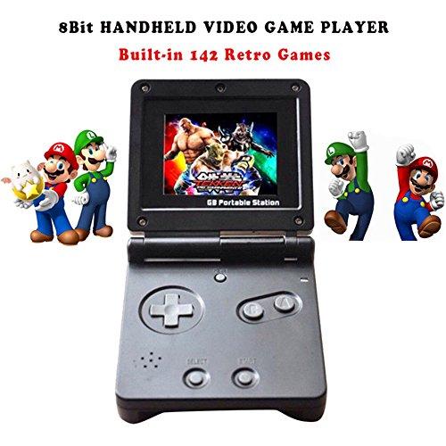 GB Station Licht Junge SP PVP Hand Spielkonsole Klassische Spiele Portable Handheld Spiel Video Player Für Kinder Gaming Spielzeug (Handheld-spiel-player)