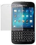 dipos I 2X Schutzfolie matt passend für BlackBerry Classic Folie Bildschirmschutzfolie
