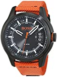 Hugo Boss Orange Hong Kong Mens Quartz Analogue Classic Orange Rubber Strap 1550001