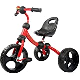 GoodLuck Baybee - Children Plug And Play Dandy Tricycle Kid's For 2-5 Years Baby Trike Ride On Outdoor | Suitable For Babies,Boys & Girls - (Red)