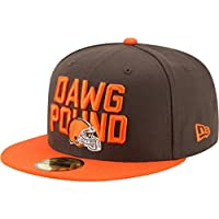 sale retailer f3e4f 9426b New Era 59Fifty Cap - NFL 2018 DRAFT Cleveland Browns