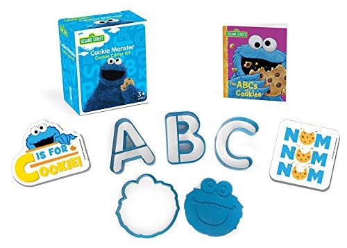 Sesame Street: Cookie Monster Cookie Cutter Kit (Running Press Mini (Kit Cookie Monster)