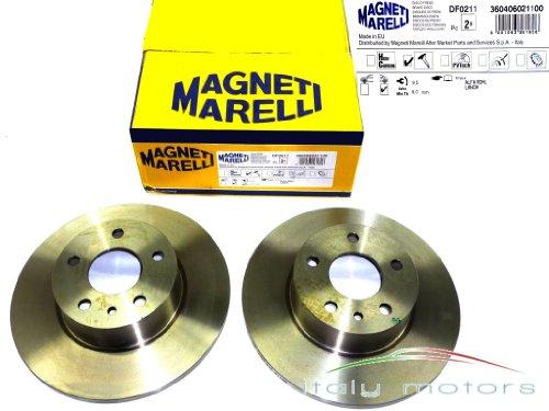 ALFA ROMEO 156 (+ SPORTWAGON) Disques de frein arrière – Magneti Marelli – 360406021100–60658566