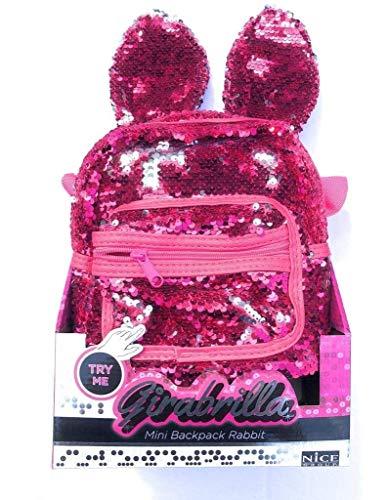 Nice Girabrilla - Mini Backpack Rabbit, Colori assortiti
