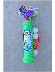 Set Golf plastique pour enfants