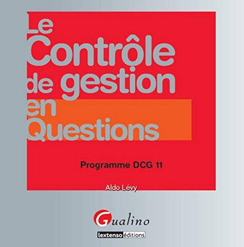 DCG 11- Le contrôle de gestion en questions