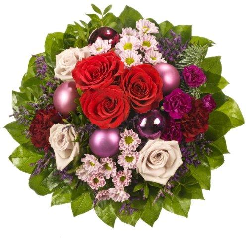 """floristikvergleich.de Dominik Blumen und Pflanzen, Blumenstrauß """"Frohes Fest"""""""