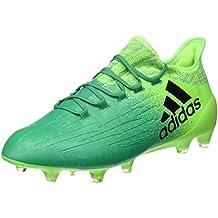 adidas X 16.1 FG - Botas de fútbol para Hombre, Verde - (Versol/