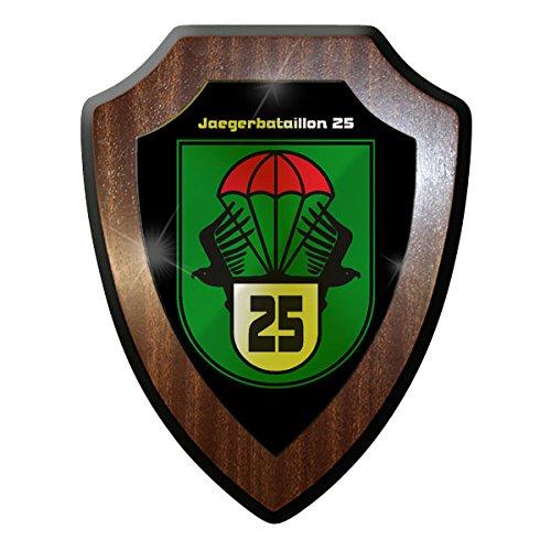 Wappenschild / Wandschild / Wappen -Jägerbataillon 25 Jäger Bataillon JgBtl Österreich Austria Bundesheer Infanterie Soldaten #10072