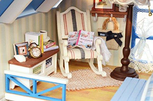 Mobili Per Casa Delle Bambole Fai Da Te : Casa delle bambole fai da te in legno fatta a mano kit in