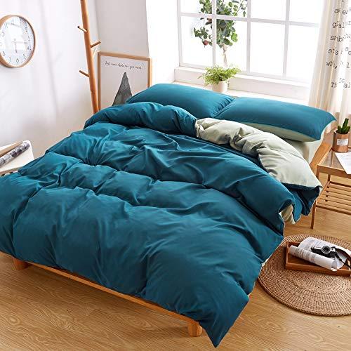 WHICH Umbrella three einfarbig Deckenbezug super weich zu 100% aus ägyptischer Baumwolle Decke auf reaktive Druck auf 1pcs bettdecke tröster in voller größe-K-150cm x 200cm (Größe Cover In Tröster Voller)
