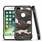 #7: Good Shepherd iPhone 7/iPhone 8 Case,Military case Advanced Dual Layer Heavy Duty Protection [Shock Absorption Technology] Stylish Armor Strength Resistant Protective Cover