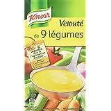 Knorr Soupe Velouté de 9 Légumes 1 L - Lot de 4