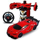 FairOnly 1/24 Cadeau de Jouet d'enfants de Robot électrique de Voiture de...