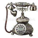 Scarica Libro MATAQI Retro europeo Tian Yuanqing patina stile minimalista telefoni di rete fissa telefonica (PDF,EPUB,MOBI) Online Italiano Gratis