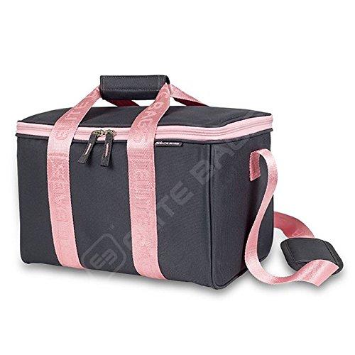 Mehrzweck Erste-Hilfe-Set | 34 x 21 x 20 cm | Grau und rosa | Elite Bags