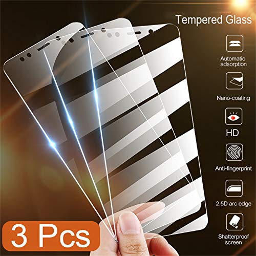 Socket Ring Glas (PmseK Panzerglas Schutzfolie/Displayschutzfolie,3-1Pcs Glass for Redmi Note 5 Glass On The Redmi Note 5 Pro Tempered Glass for Redmi 5 5A 5 Plus Screen Protector for Note 5A(16GB) 2 Piece)