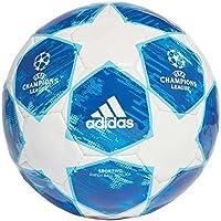 Adidas Finale18 SPOR, Pallone Unisex – Adulto, Bianco/Fooblu/Brcyan, 5
