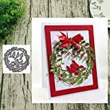 KimcHisxXv - Plantilla para troqueladora, diseño de árbol de Navidad de Metal, para Scrapbooking, Papel fotográfico, Tarjetas, artesanía, fabricación DIY, cumpleaños, Regalo de Plata