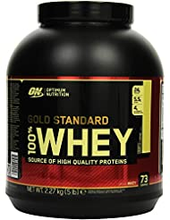 Optimum Nutrition Whey Gold Standard Protein, French Vanilla Cream, 1er Pack (1 x 2,273kg)