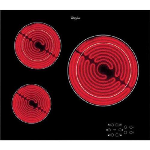 Whirlpool AKT8030NE plaque - plaques (Intégré, Céramique, verre-céramique, Noir, toucher, Devant)