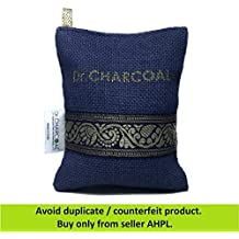 Dr. CHARCOAL Non Electric Air Purifier Deodorizer and Dehumidifier for Cars, Bathrooms and Kitchen. 200 Grams. (Classic Neel)