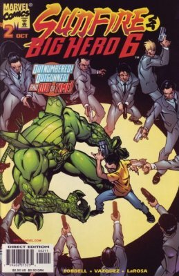 Sunfire & Big Hero 6 Issue 2 October 1998 (Marvel Comics) (Hero Big Sunfire 6)
