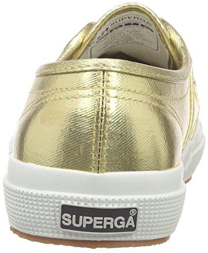 Superga 2750 Cotmetu, Scarpe da Ginnastica Donna Oro (Gold (174))