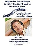 Heilpraktiker Psychotherapie Lernstoff Bereich F4 anhören und auditiv lernen: MP3 - CD Lernstoff direkt anhören oder in Hypnose verankern