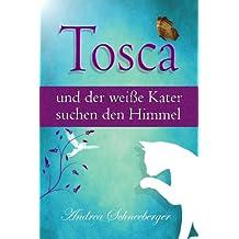 Tosca und der weiße Kater suchen den Himmel