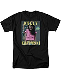 Trevco Saved by The Bell Sitcom Kelly Kapowski Adult T-Shirt Tee