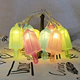 10 LED Popsicle String Lights Curtain Decorative String Lighting, Light for Home Bedroom Kids room Birthday Party Decorations
