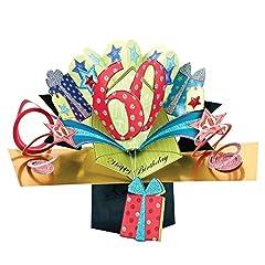 Idea Regalo - Second Nature - Biglietto di auguri pop-up, per il 60° compleanno