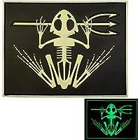 US Marina Navy Seals Bone Frog Cranio Scheletro DEVGRU Morale PVC 3D Velcro Toppa Patch